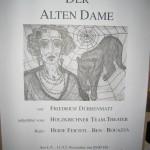 1993_Plakat_Der Besuch der alten Dame