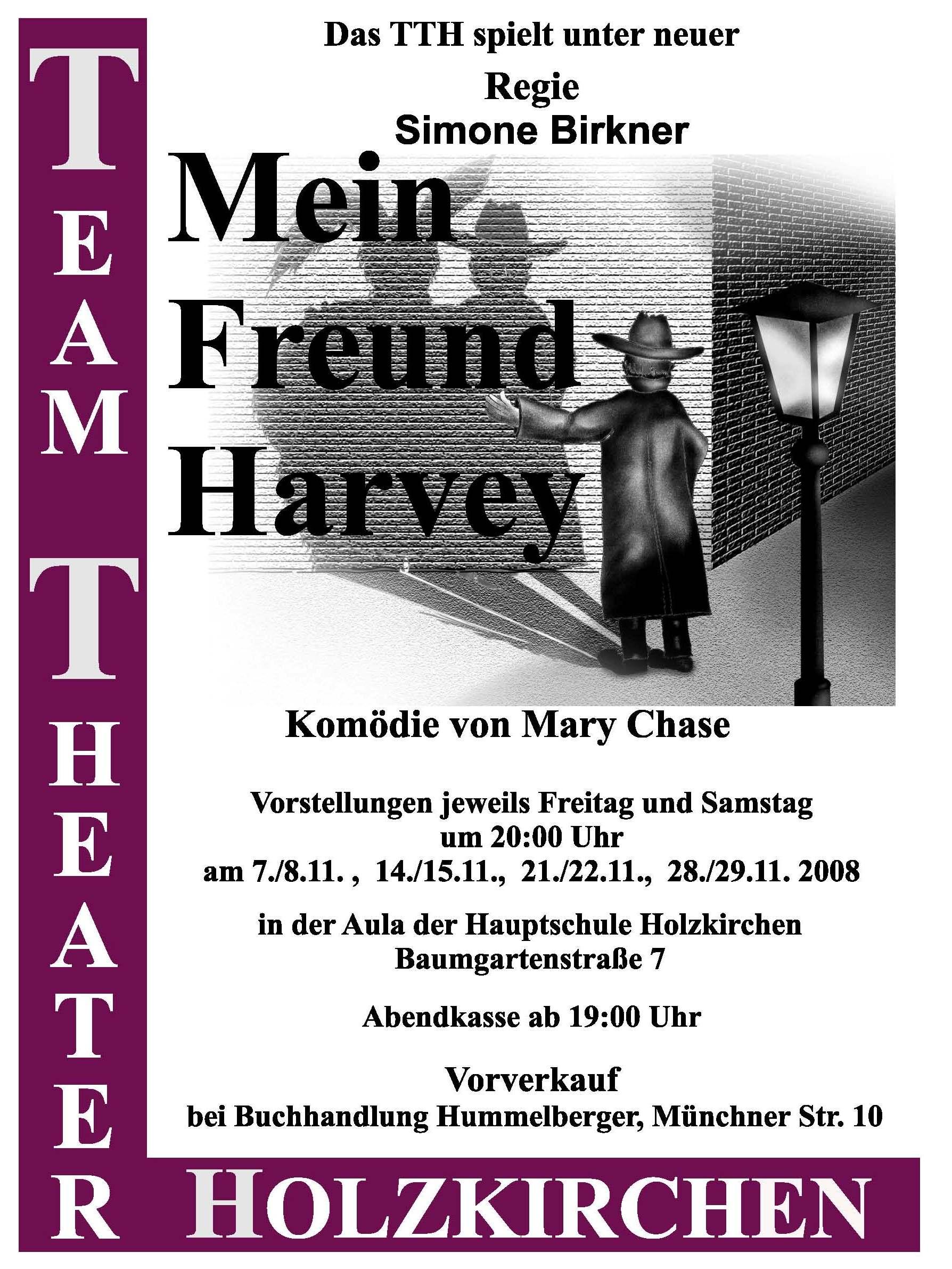 mein freund harvey theater